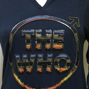 Lucky Brand Tops - Lucky Brand The Who Band Long Sleeve T-Shirt Sz XS